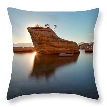 Shining Bonsai Throw Pillow