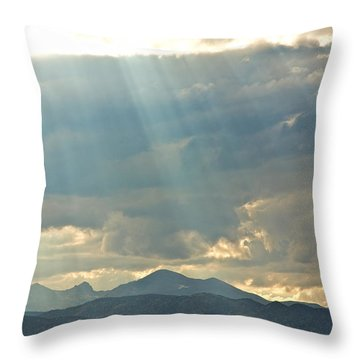 Shining Down Throw Pillow by James BO  Insogna