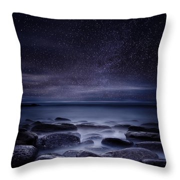 Shining In Darkness Throw Pillow by Jorge Maia