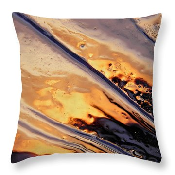 Shining Throw Pillow by Sami Tiainen