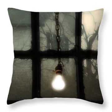 Shinning Throw Pillow by Gothicrow Images