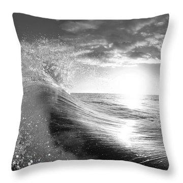 Shiny Comforter Throw Pillow