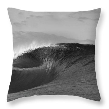 Shiny Tunnel Throw Pillow by Sean Davey