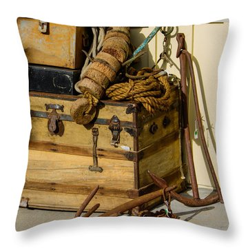 Shipping Out Throw Pillow
