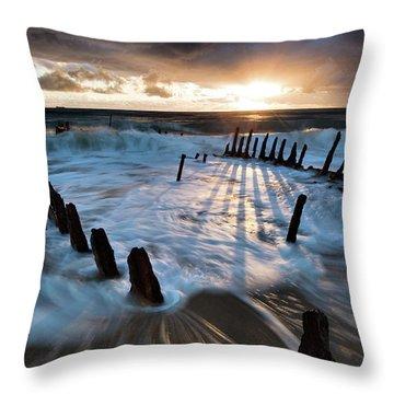 Shipwreck Throw Pillows