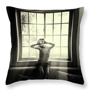 Sepia Tone Throw Pillows