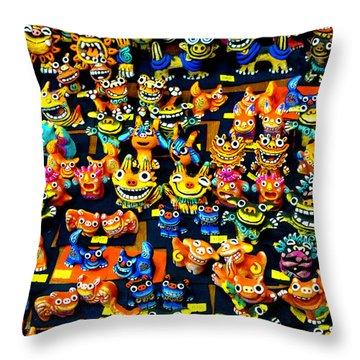 Shisa 1 Throw Pillow