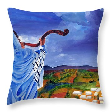 Shofar I Throw Pillow