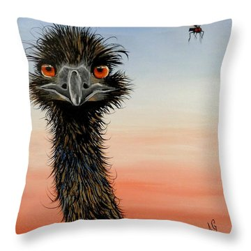 Shoo Flies Throw Pillow