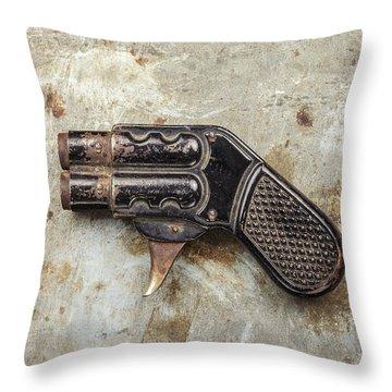 Shoot Throw Pillow by Martin Bergsma