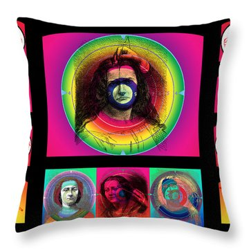 Shooting Gallery IIi Throw Pillow