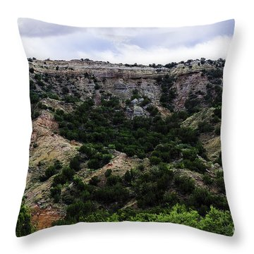 Shooting The Rim Throw Pillow