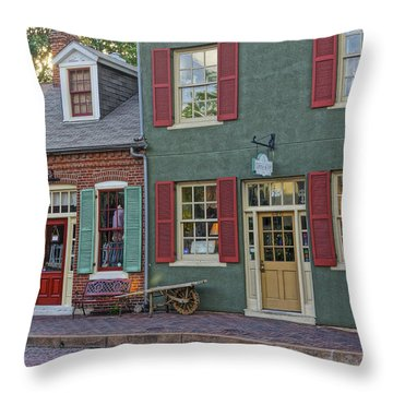 Shops S Main St Charles Mo Dsc00886  Throw Pillow
