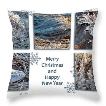 Throw Pillow featuring the photograph Shoreline Christmas by Randi Grace Nilsberg