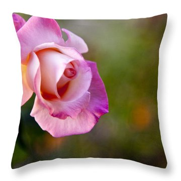 Short Lived Beauty Throw Pillow by David Millenheft