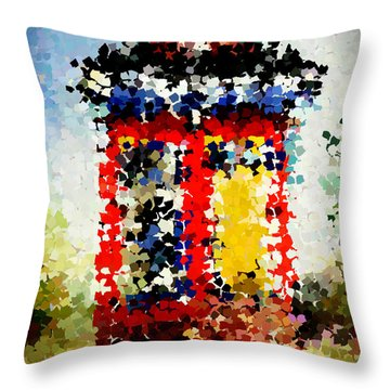 Shotgun Square Throw Pillow
