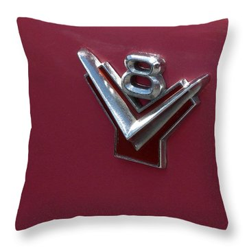 Should Have Had A V8 Throw Pillow