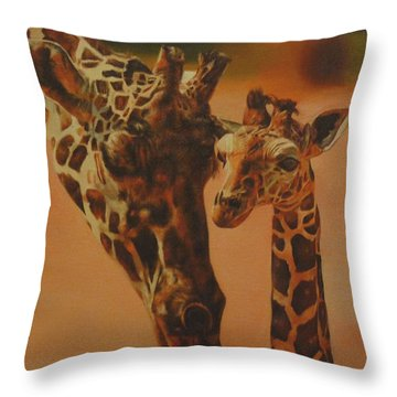 Show Me Throw Pillow by Cherise Foster