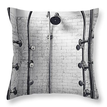 Showerfall Throw Pillow