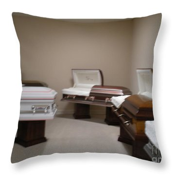 Showroom Throw Pillow by Joseph Baril