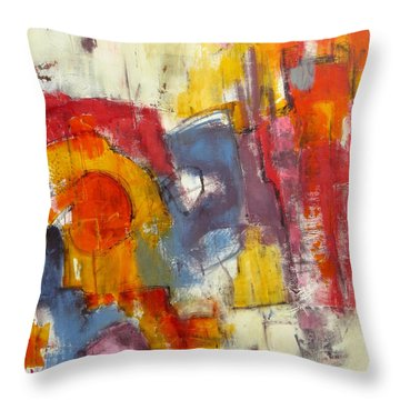 Showroom Throw Pillow