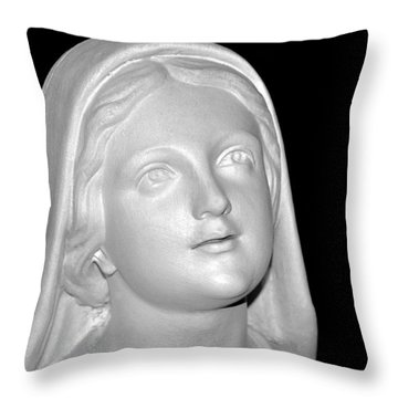 Shrine At Franciscan Monastery Throw Pillow