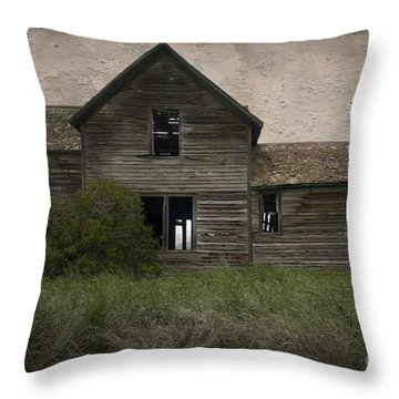 Shrouded In Mystery Throw Pillow by Sandra Bronstein
