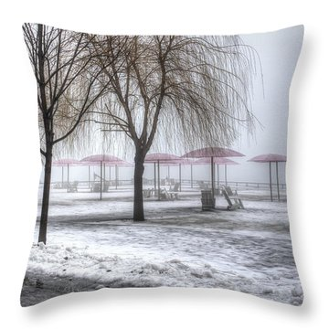 Shrouded Throw Pillow
