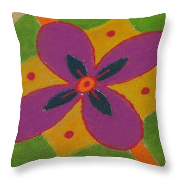 Shubh Vijayadashmi Throw Pillow