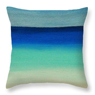 Shutter Me Sea Throw Pillow