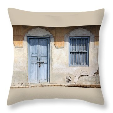 Shuttered #6 Throw Pillow