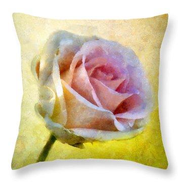 Shy Underneath Throw Pillow by RC deWinter