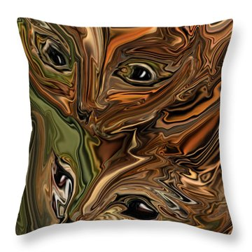 Sibling  Throw Pillow
