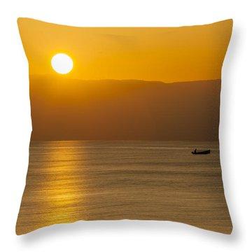 Sicilian Dawn Throw Pillow
