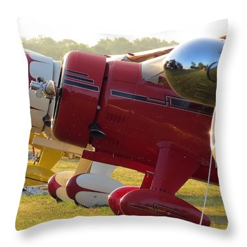 Side By Side. Oshkosh 2012 Throw Pillow