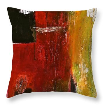 Sidelight Throw Pillow by Bellesouth Studio