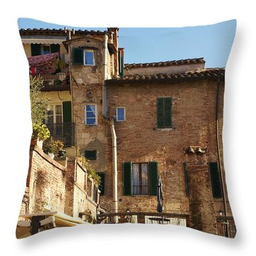 Sienna Throw Pillow by Barbara Stellwagen