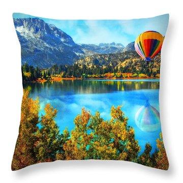 Sierra Dreaming  Throw Pillow