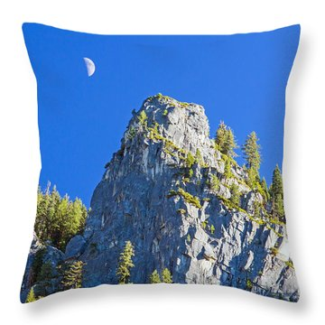 Sierra Moonrise Throw Pillow