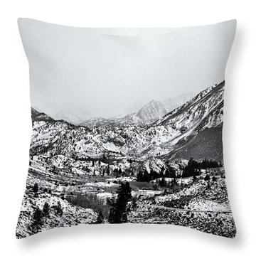 Sierra Nevada I Throw Pillow