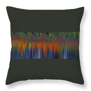 Sierra Serenity  Throw Pillow by Duncan Selby