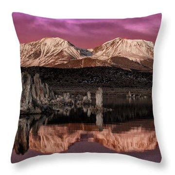 Sierra Sunrise Throw Pillow