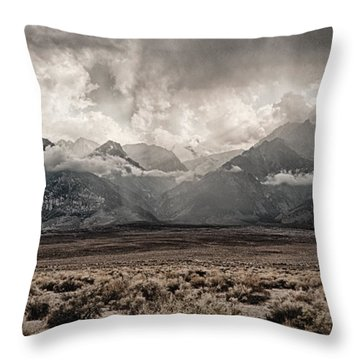 Sierra Thunderstorm Throw Pillow