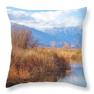 Sierra Visions Throw Pillow