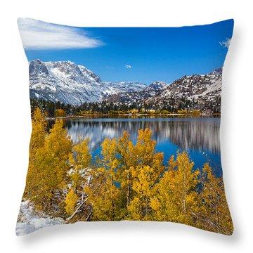 Sierra's Gem Throw Pillow by Tassanee Angiolillo
