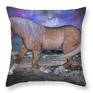 Siesta Moon Throw Pillow