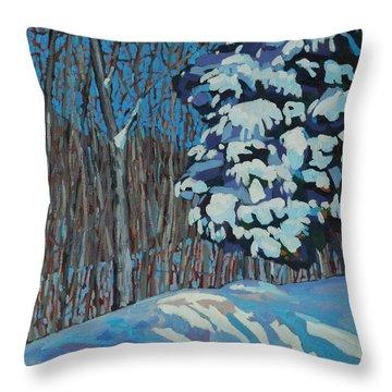 Significant Cedar Throw Pillow