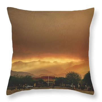 Signs Throw Pillow
