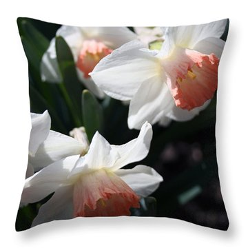 Throw Pillow featuring the photograph Signs Of Spring by Kay Novy