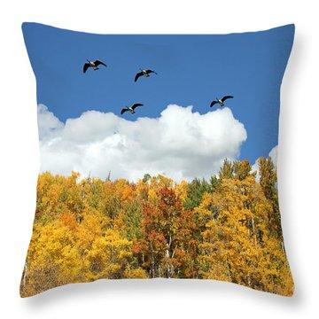 Signs Of The Season Throw Pillow